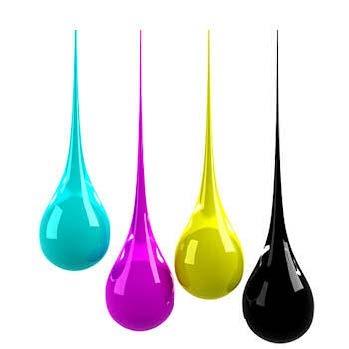 4 Colour Process Inks bfs