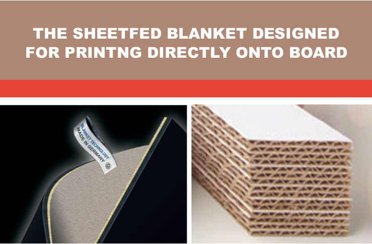 Printing directly onto fluted board